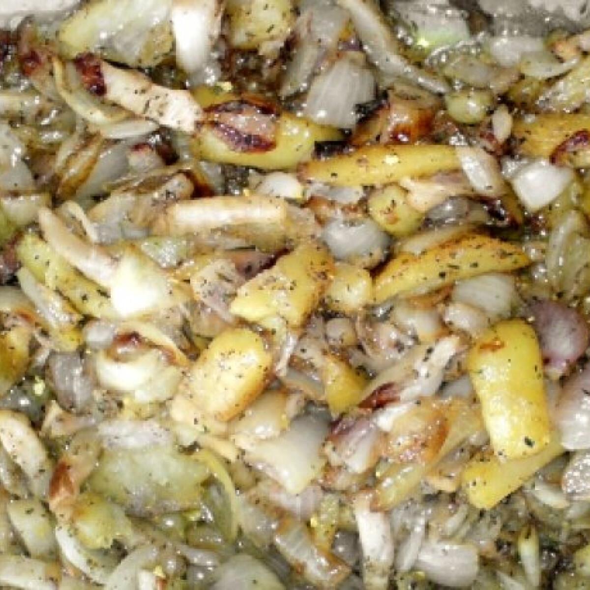 Ezen a képen: Tepsiben sült zöldségek