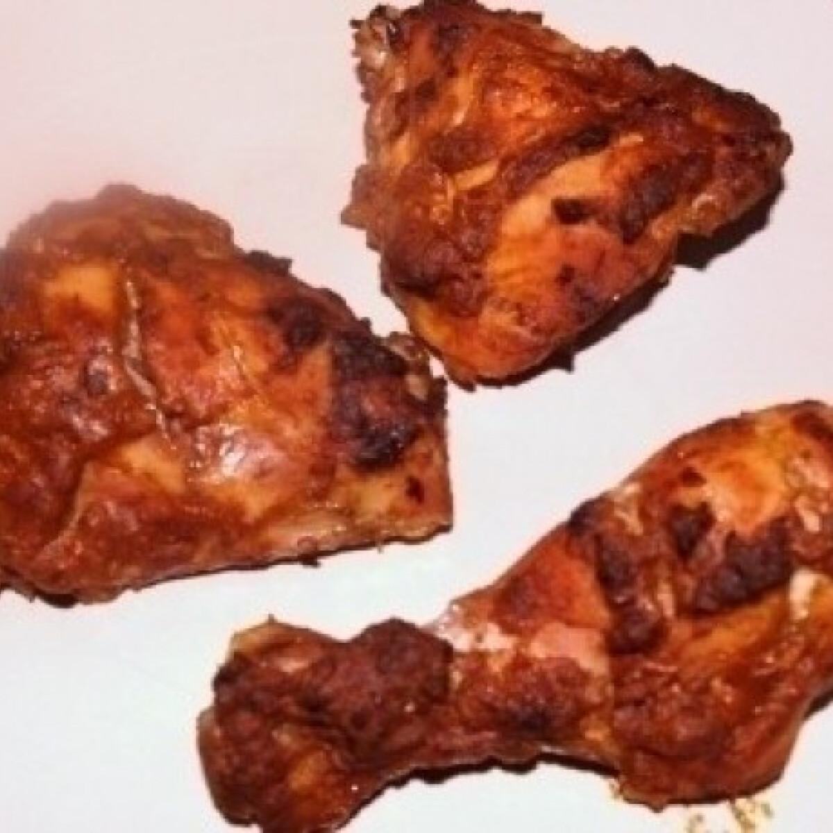 Ezen a képen: Tandoori csirke