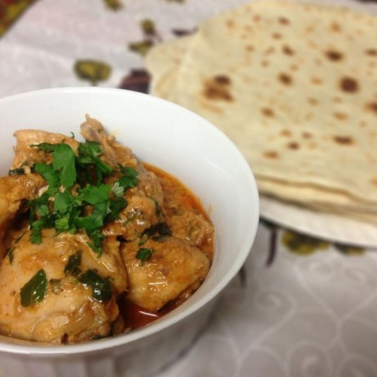 Ezen a képen: Chicken curry