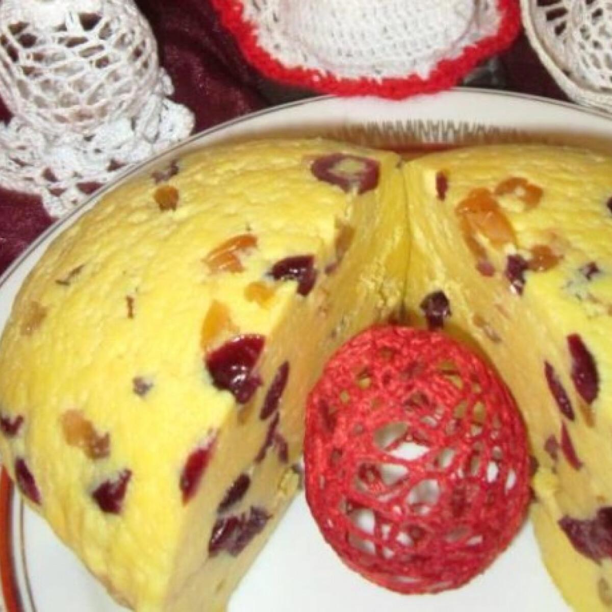 Ezen a képen: Húsvéti sárgatúró Olgis konyhájából