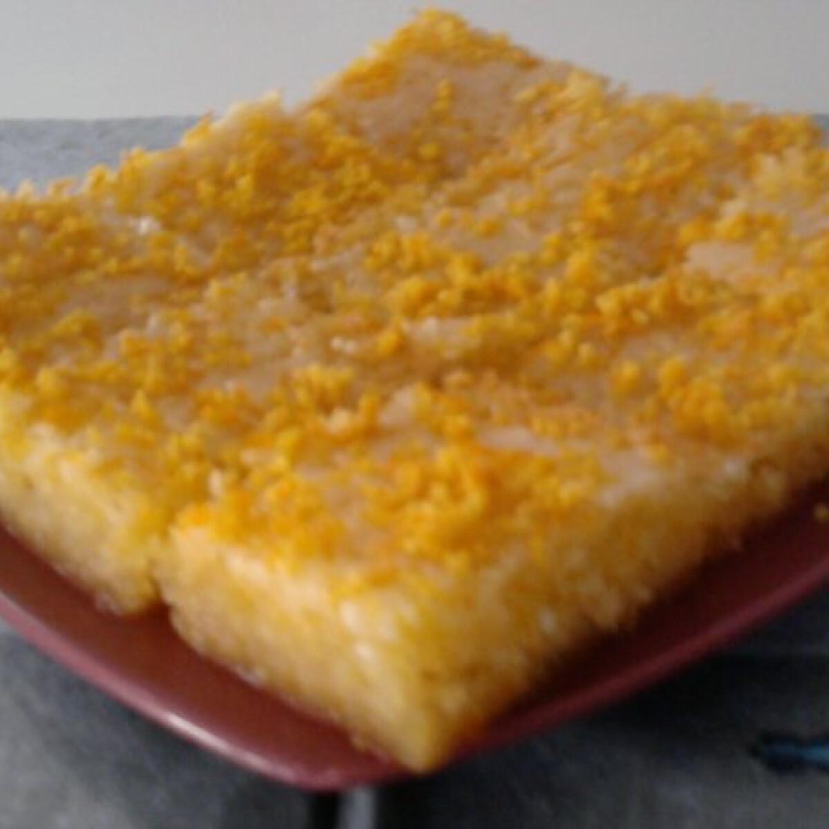 Narancsos süti Erzsi konyhájából