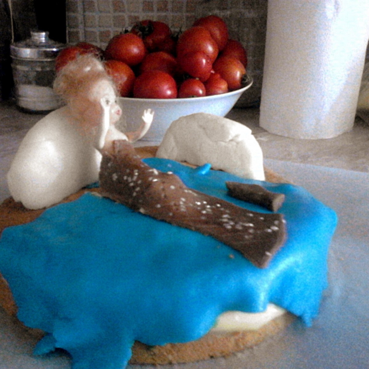 Ezen a képen: Gluténmentes hableányos torta