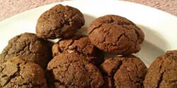 Gluténmentes csokis tallérok