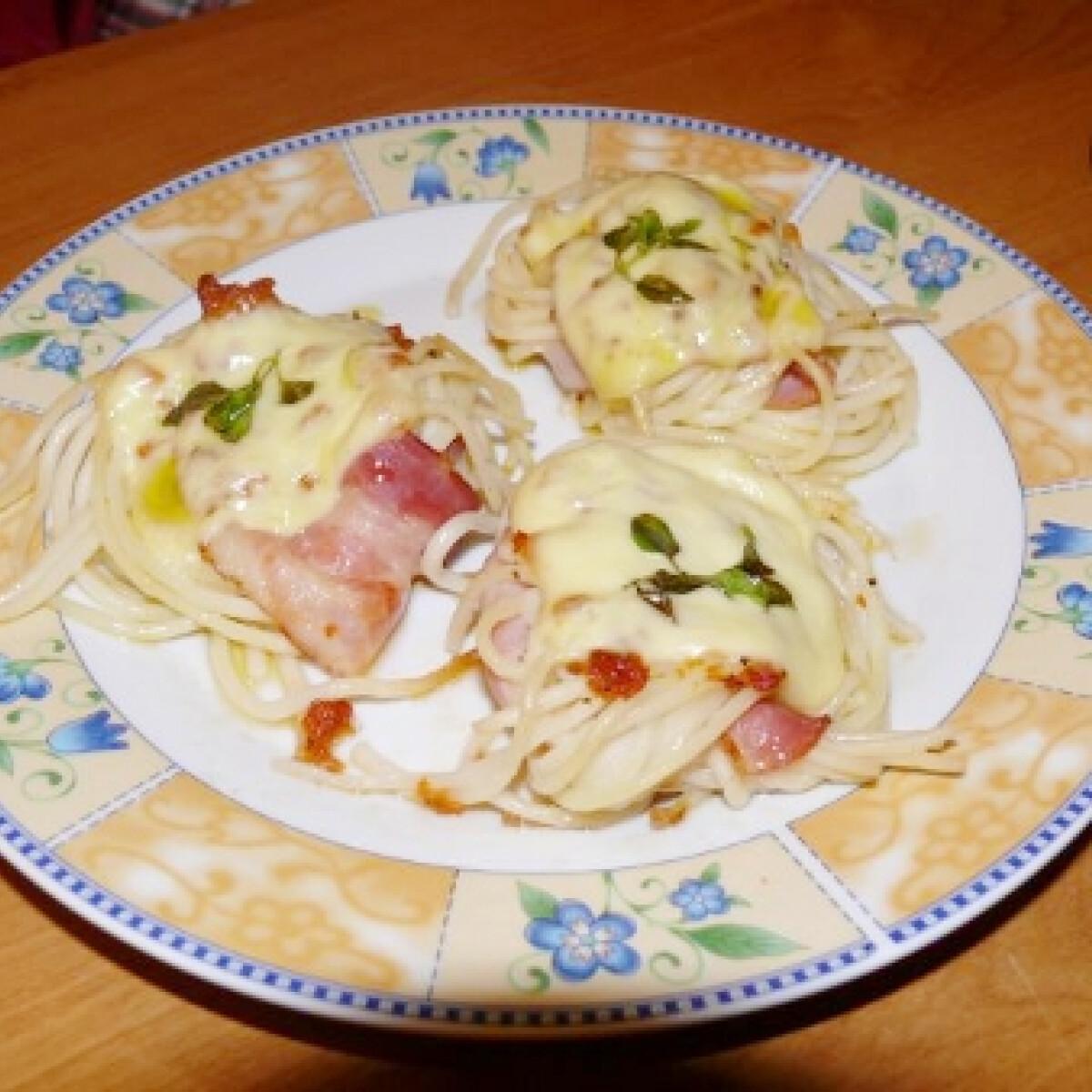 Spagetti gombóc