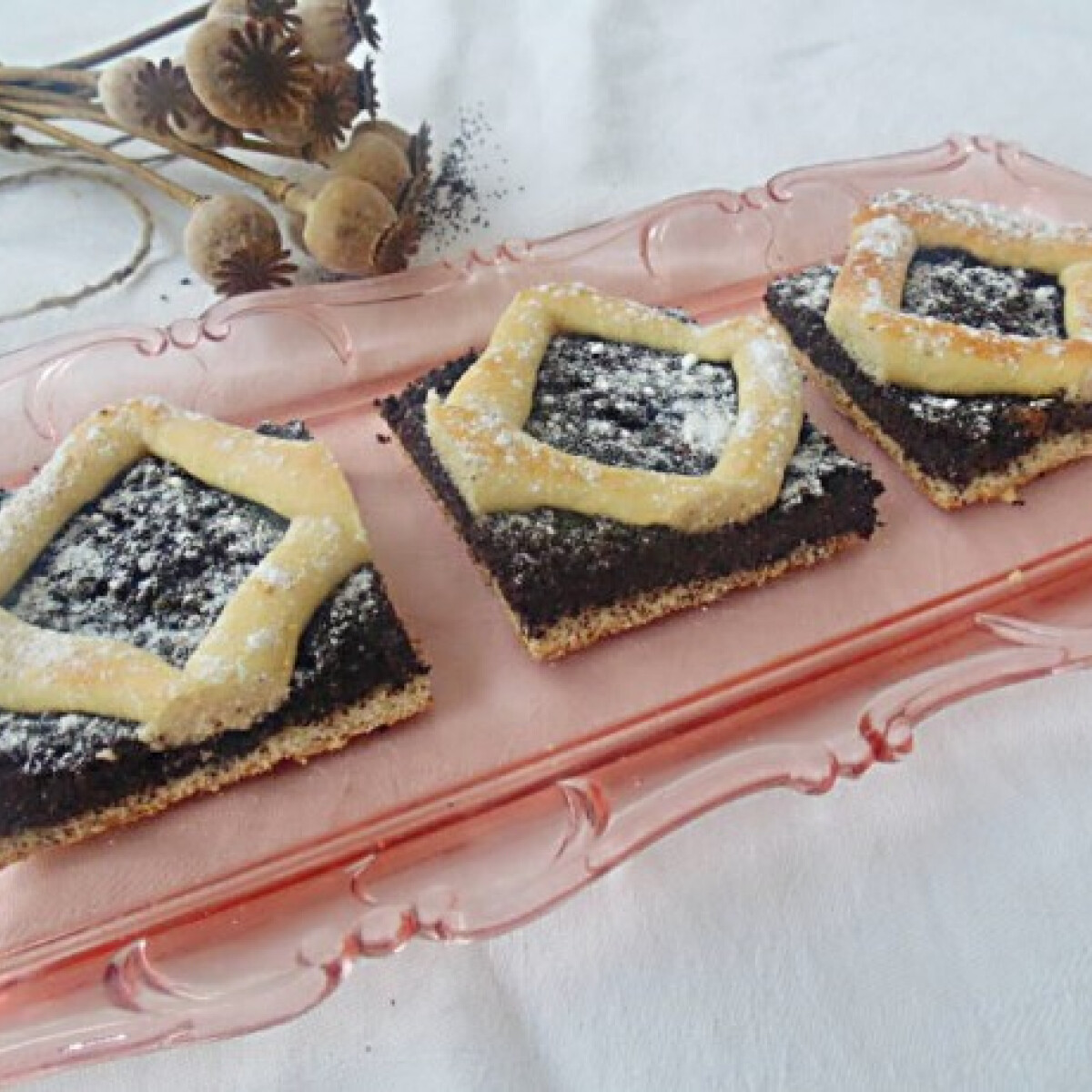 Ezen a képen: Mákos szelet Lizinka konyhájából