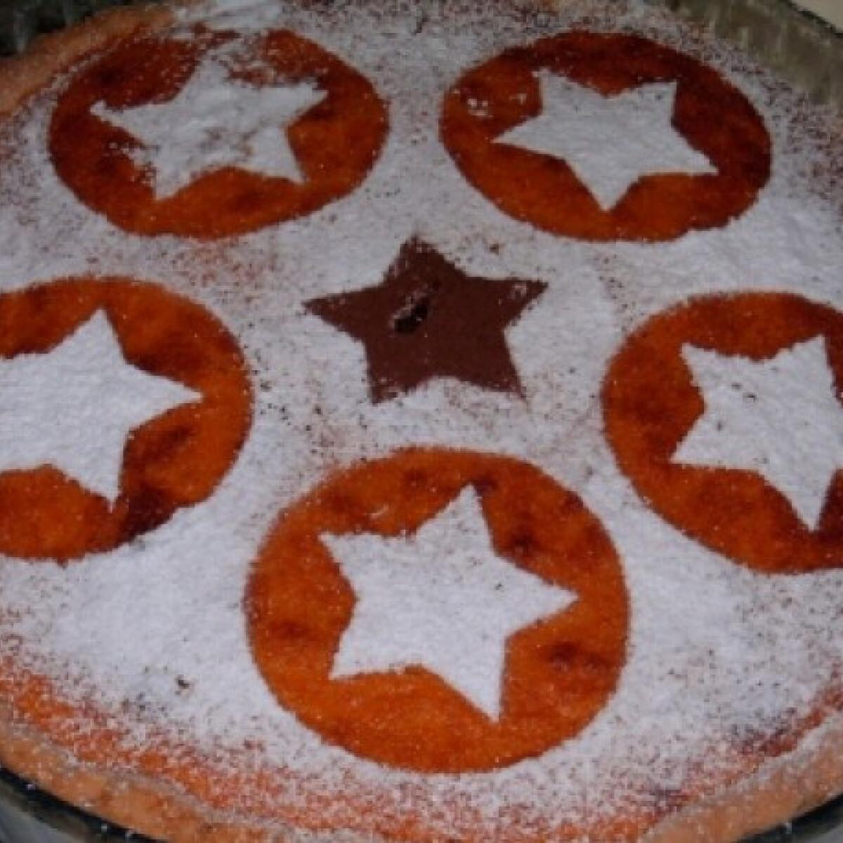Ezen a képen: Sütőtöktorta ahogy Mézeske készíti