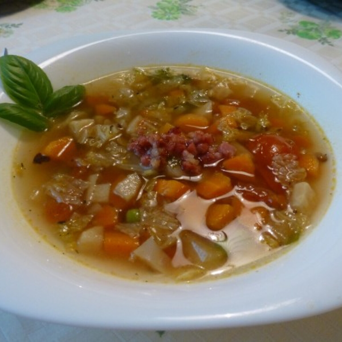 Minestrone baconnel
