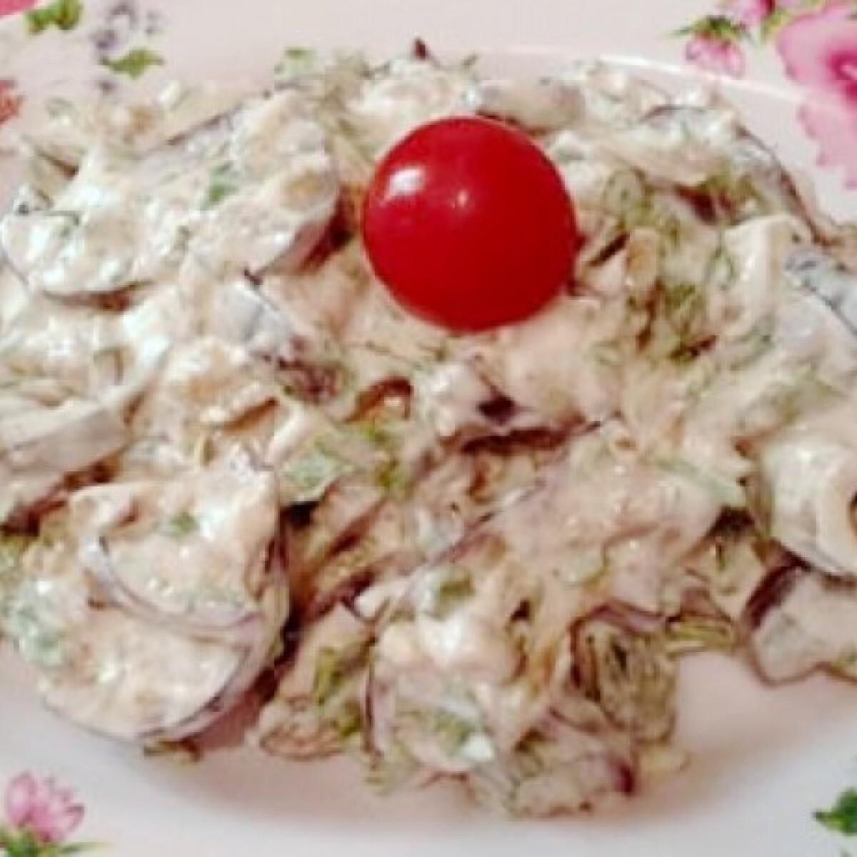 Ezen a képen: Joghurtos padlizsánsaláta Gonoszkától