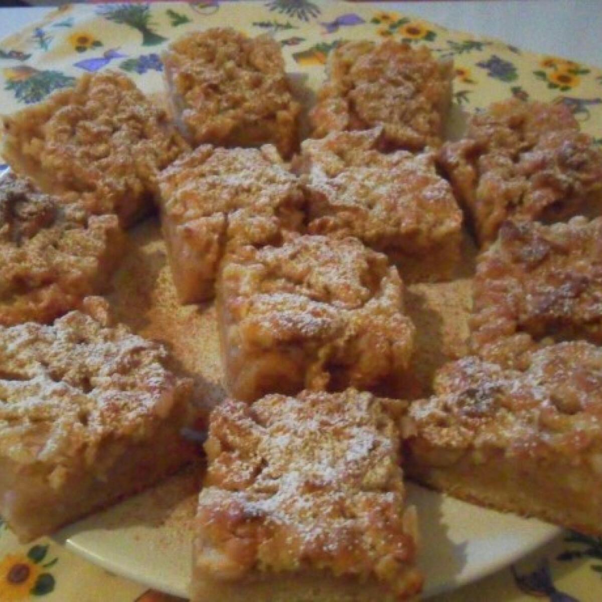 Habos almás Salamon Csilla konyhájából