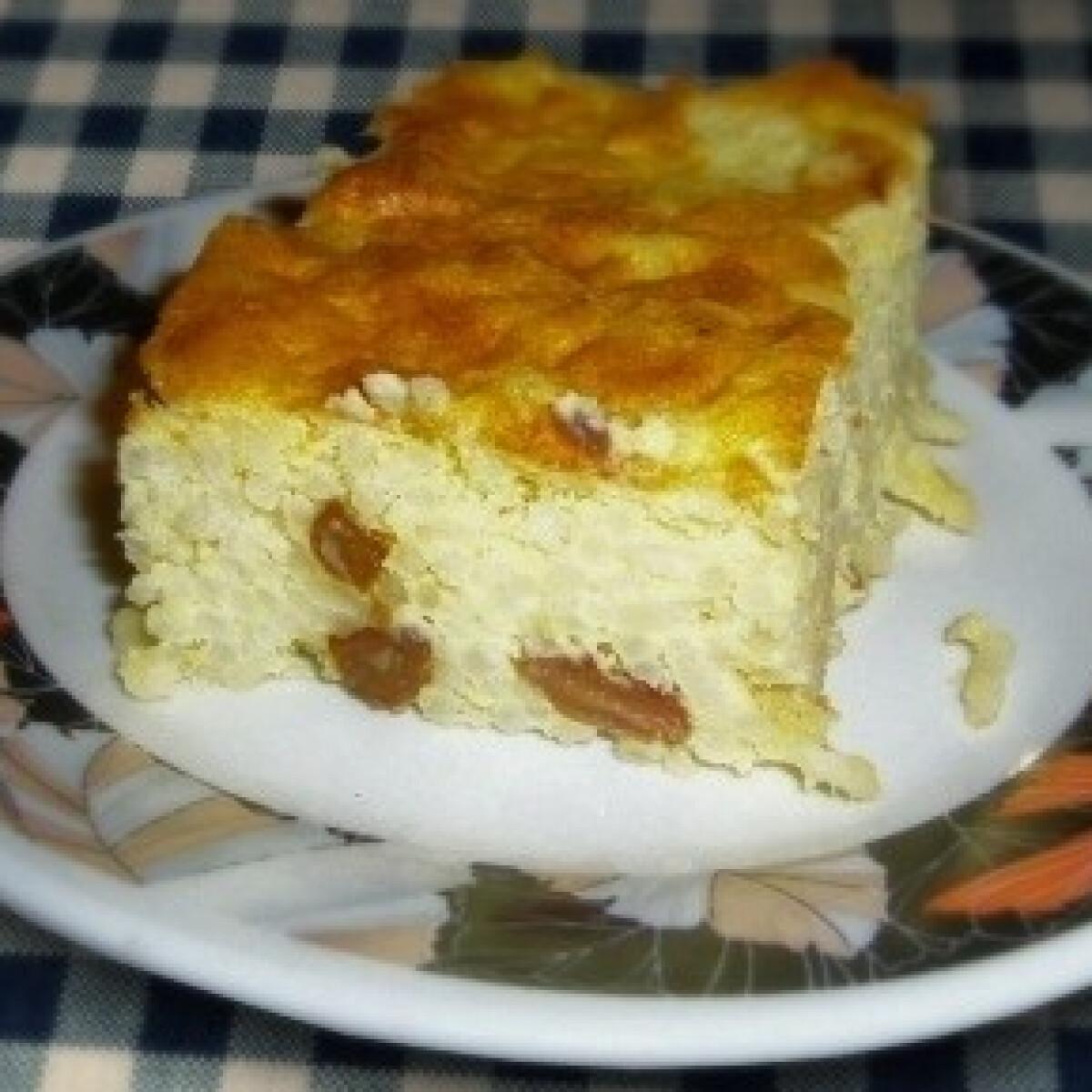 Ezen a képen: Mazsolás rizsfelfújt (Rizskoch 4.)
