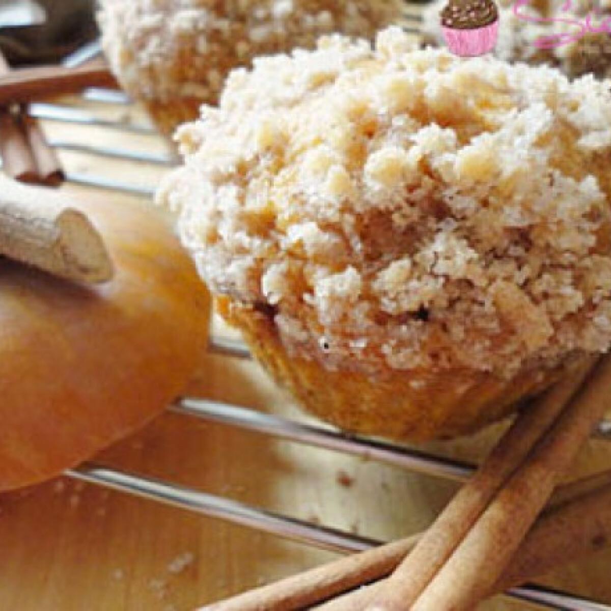 Ezen a képen: Borzas sütőtökös muffin csokidarabkákkal