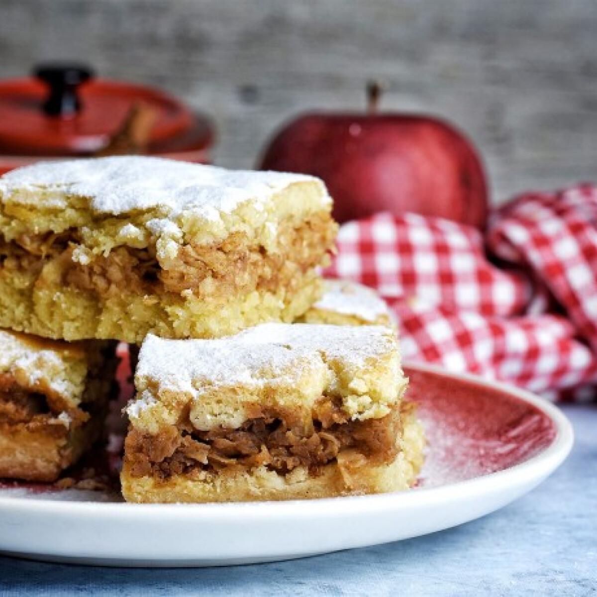 Ezen a képen: Retró almás pite
