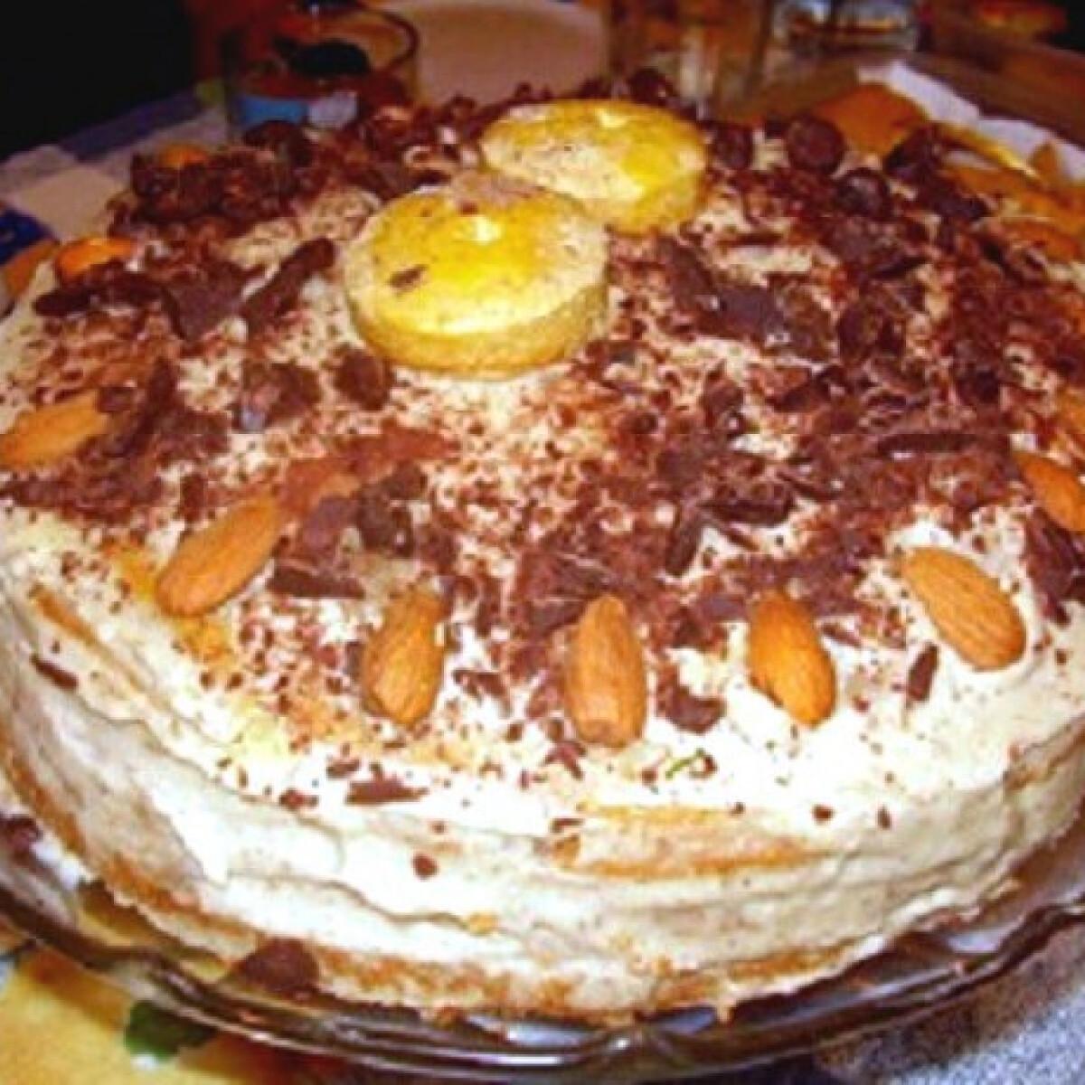 Ezen a képen: Gesztenyés torta lordgomba konyhájából