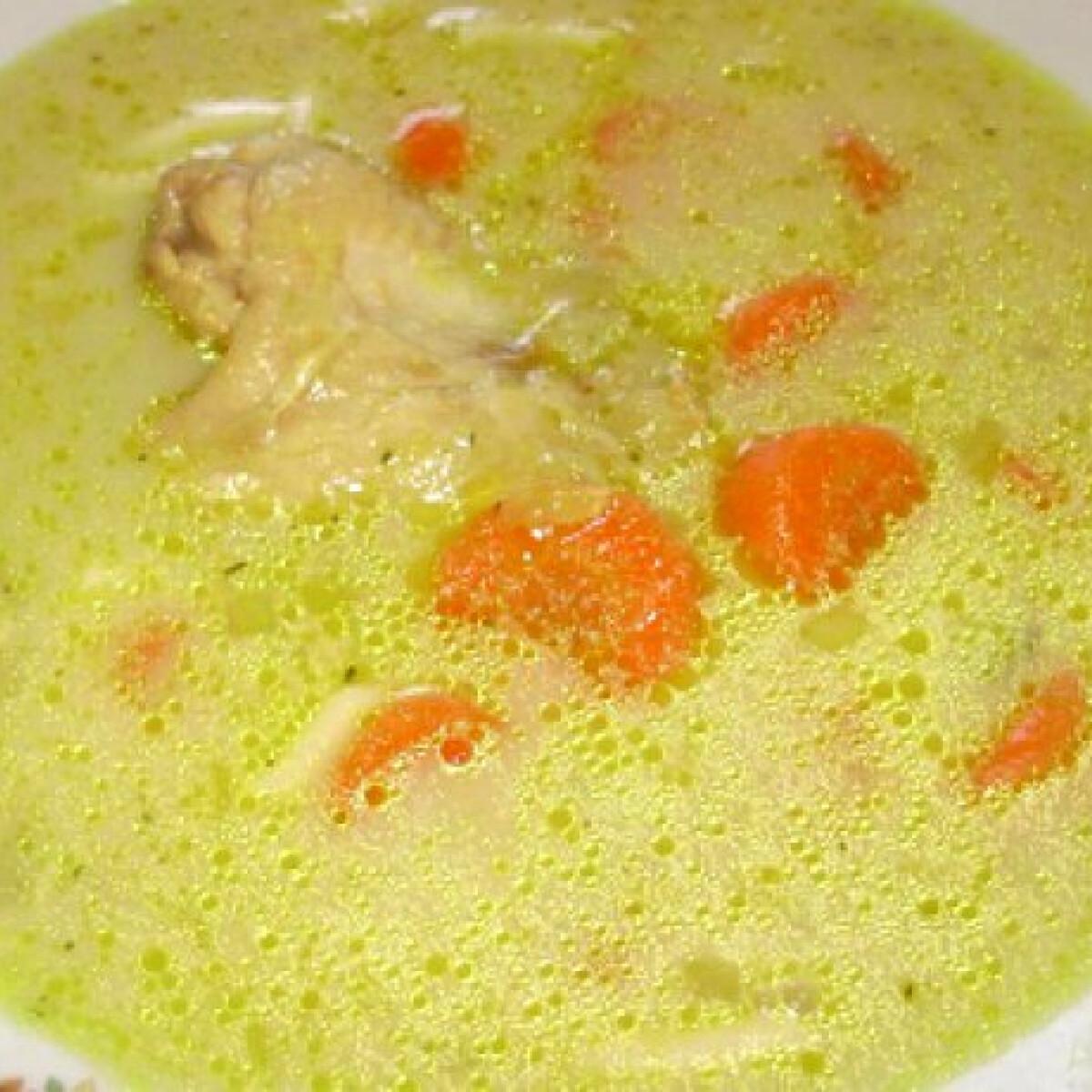 Currys csirkeszárnyleves