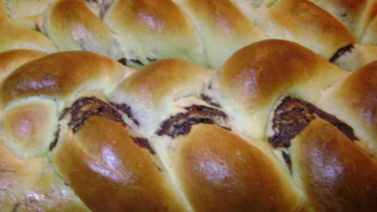 Ostoros-kakaós kalács Dina konyhájából
