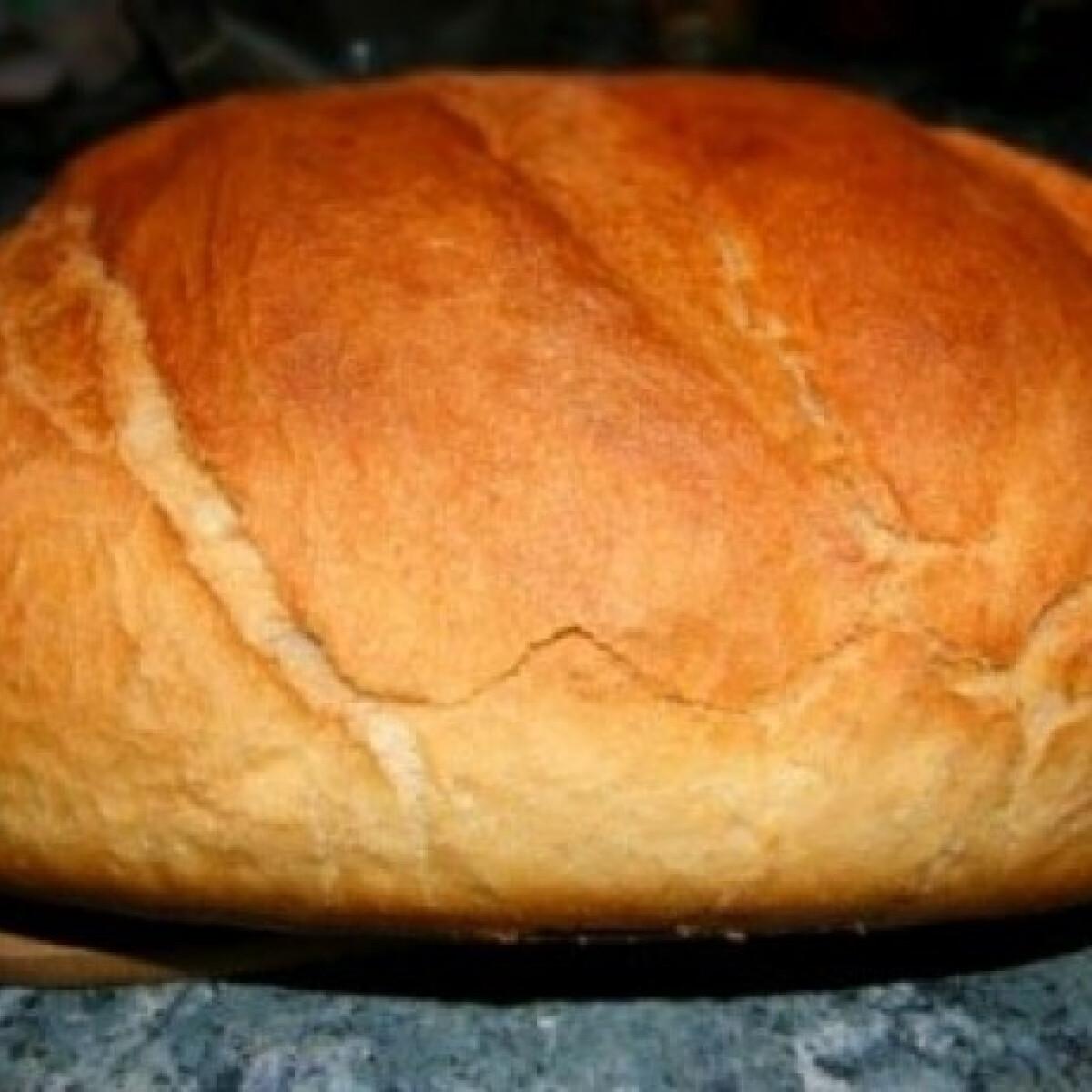 Ezen a képen: A mi kenyerünk (Házi fehér kenyér 6.)