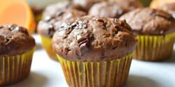 Csokis-banános-kakaós muffin