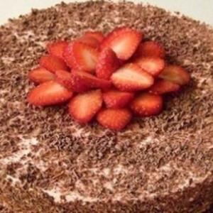 Joghurtos epertorta csokival