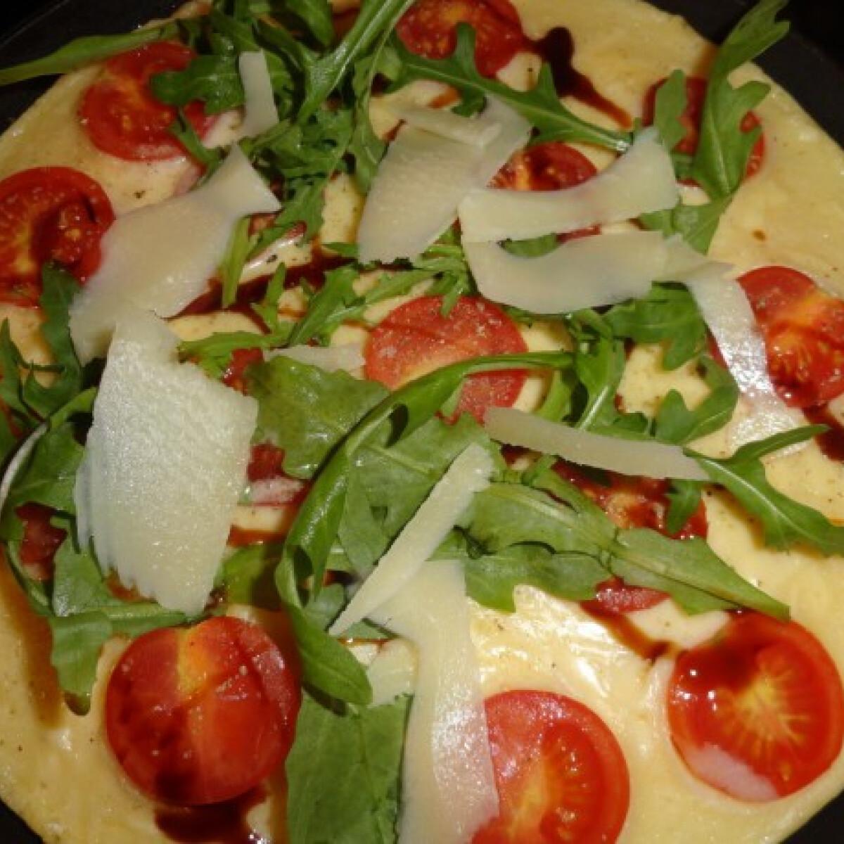 Ezen a képen: Palacsinta pizza