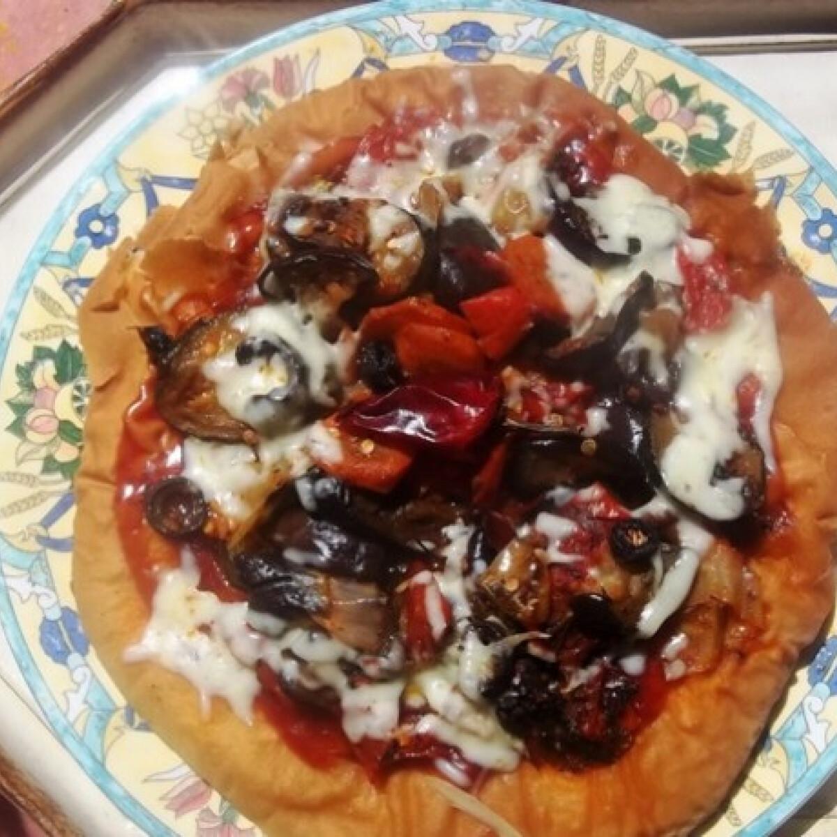 Ezen a képen: Pizza Ratatouille