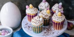 Répatorta-muffin mascarponés krémmel