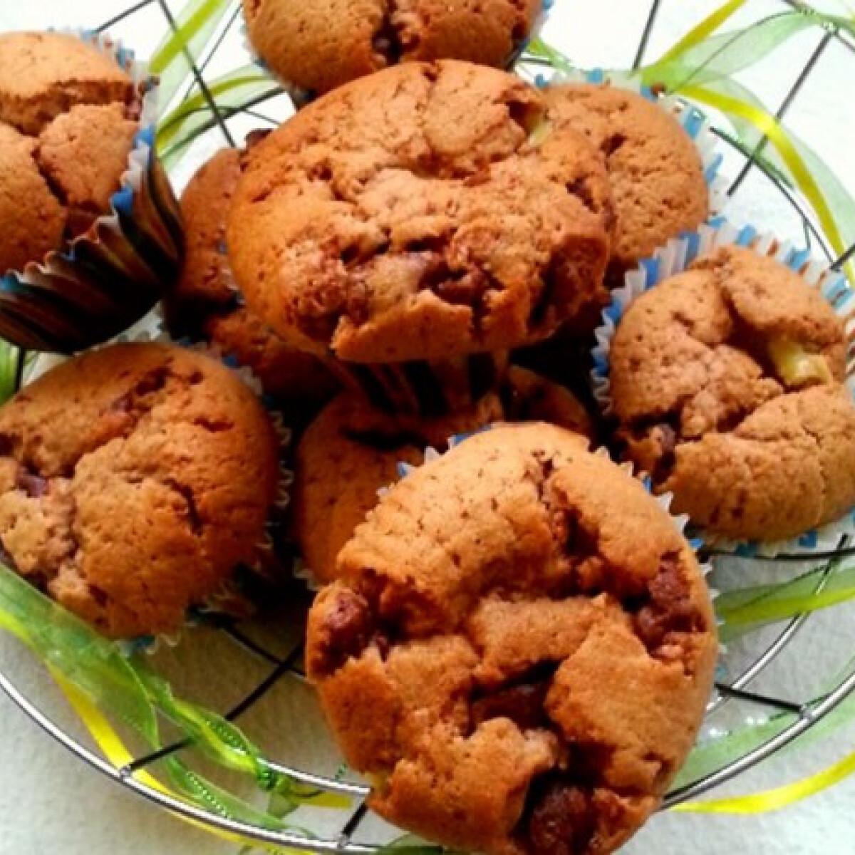 Pudinggal töltött muffin PeZsuRitól