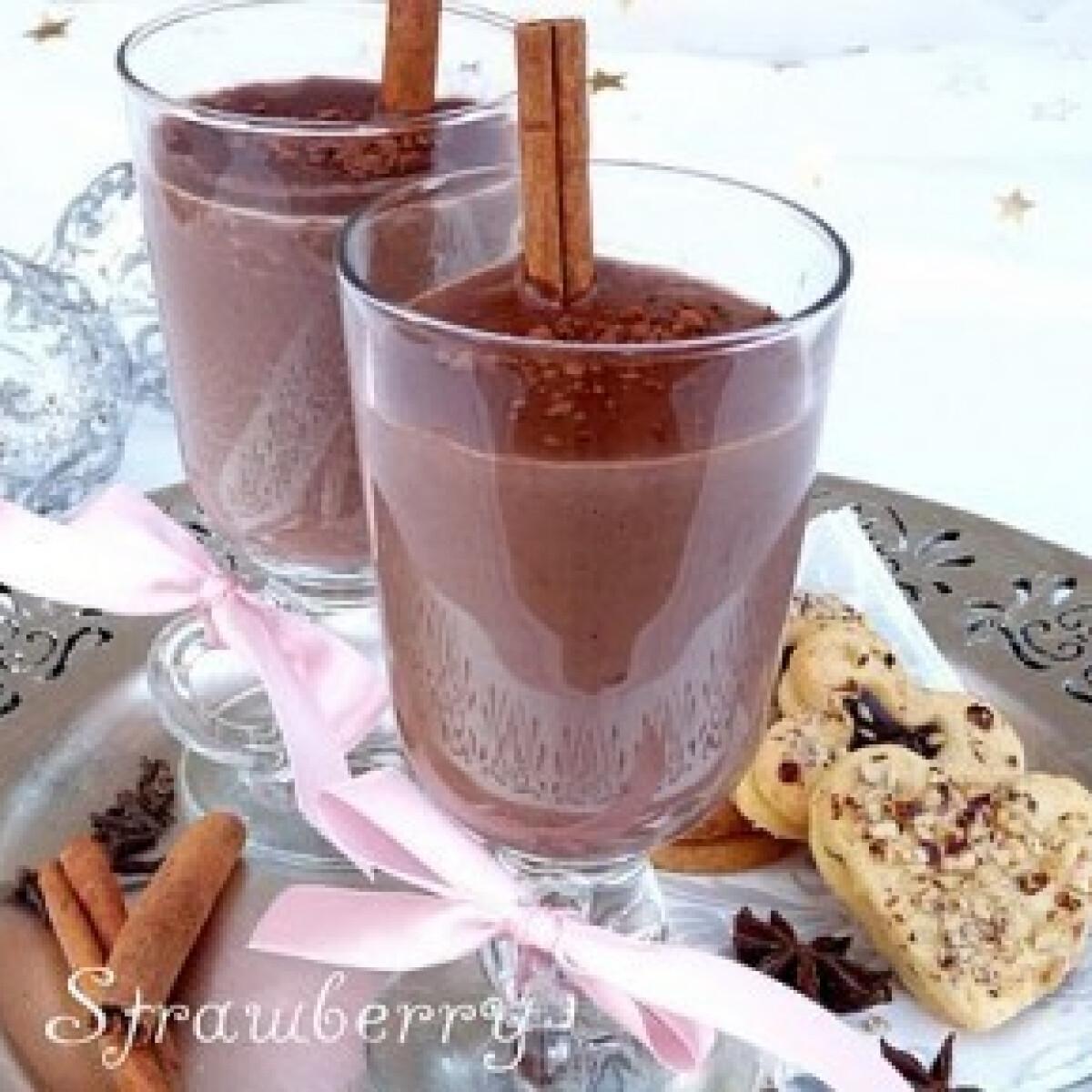 Ezen a képen: Fűszeres forró csokoládé (2.)