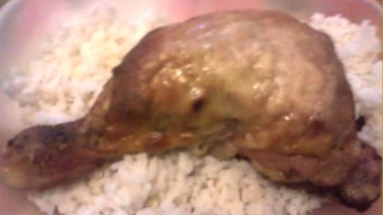 Sült csirkecomb Ildikó konyhájából