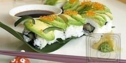 Hernyó tekercs - sushi haladóknak