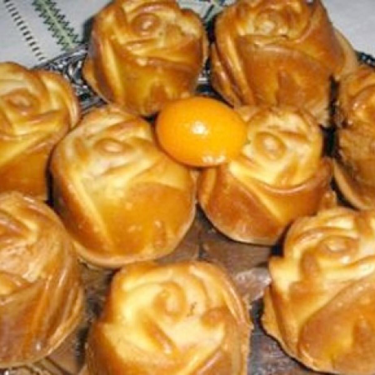 Muffinrózsa kumquattal