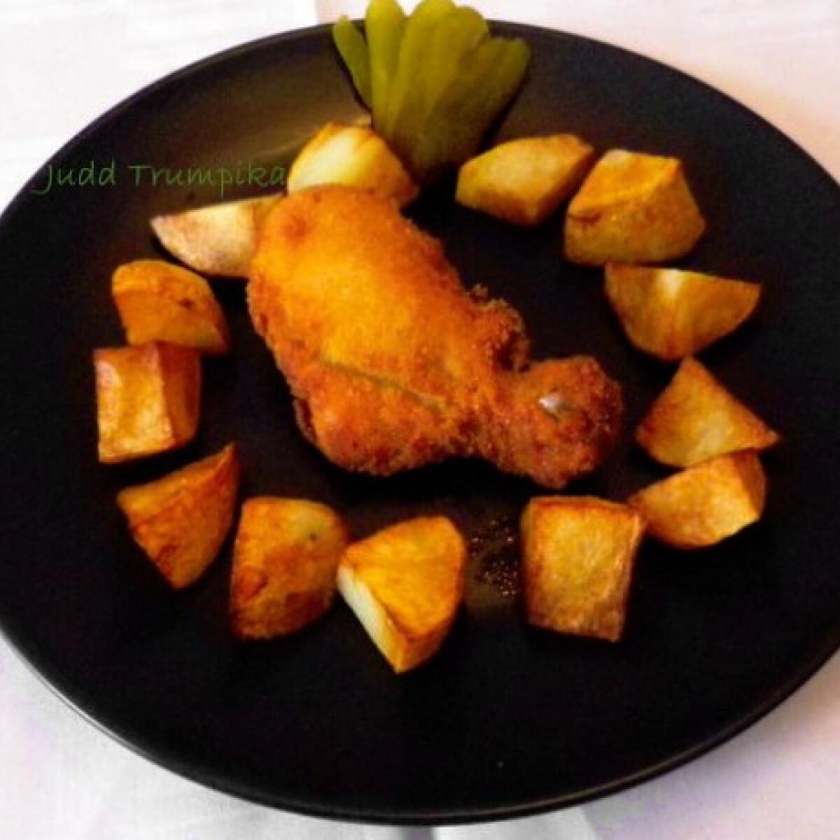 Ezen a képen: Joghurtos rántott csirke