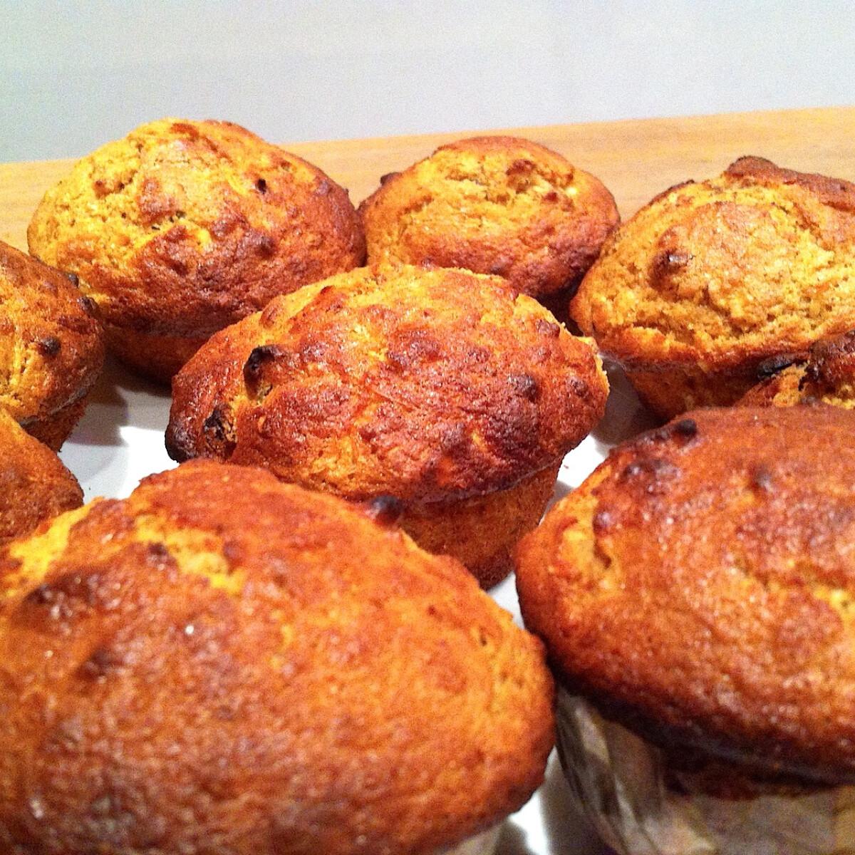 Ezen a képen: Almás-gyömbéres muffin
