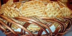 Ropogós sajtos tallér