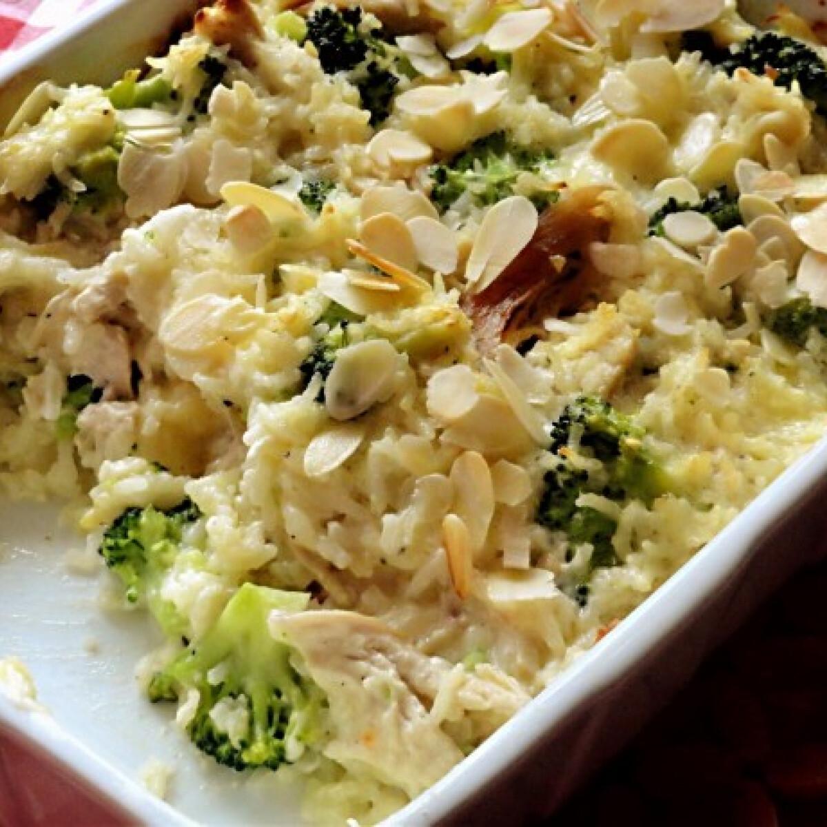 Csirkés-brokkolis rizs