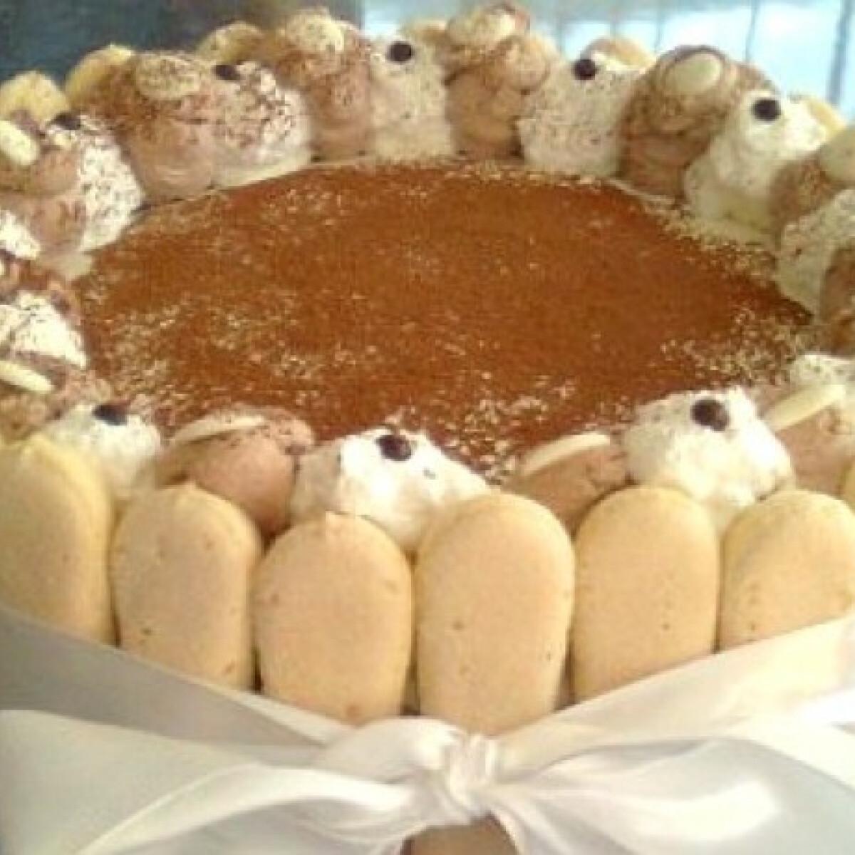 Hamis tiramisu torta 4.