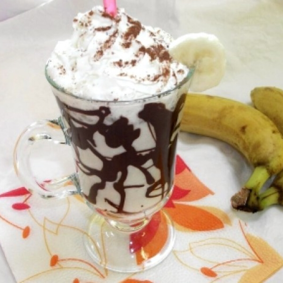 Ezen a képen: Csokis banánturmix