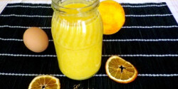 Orange curd Évi néni konyhájából