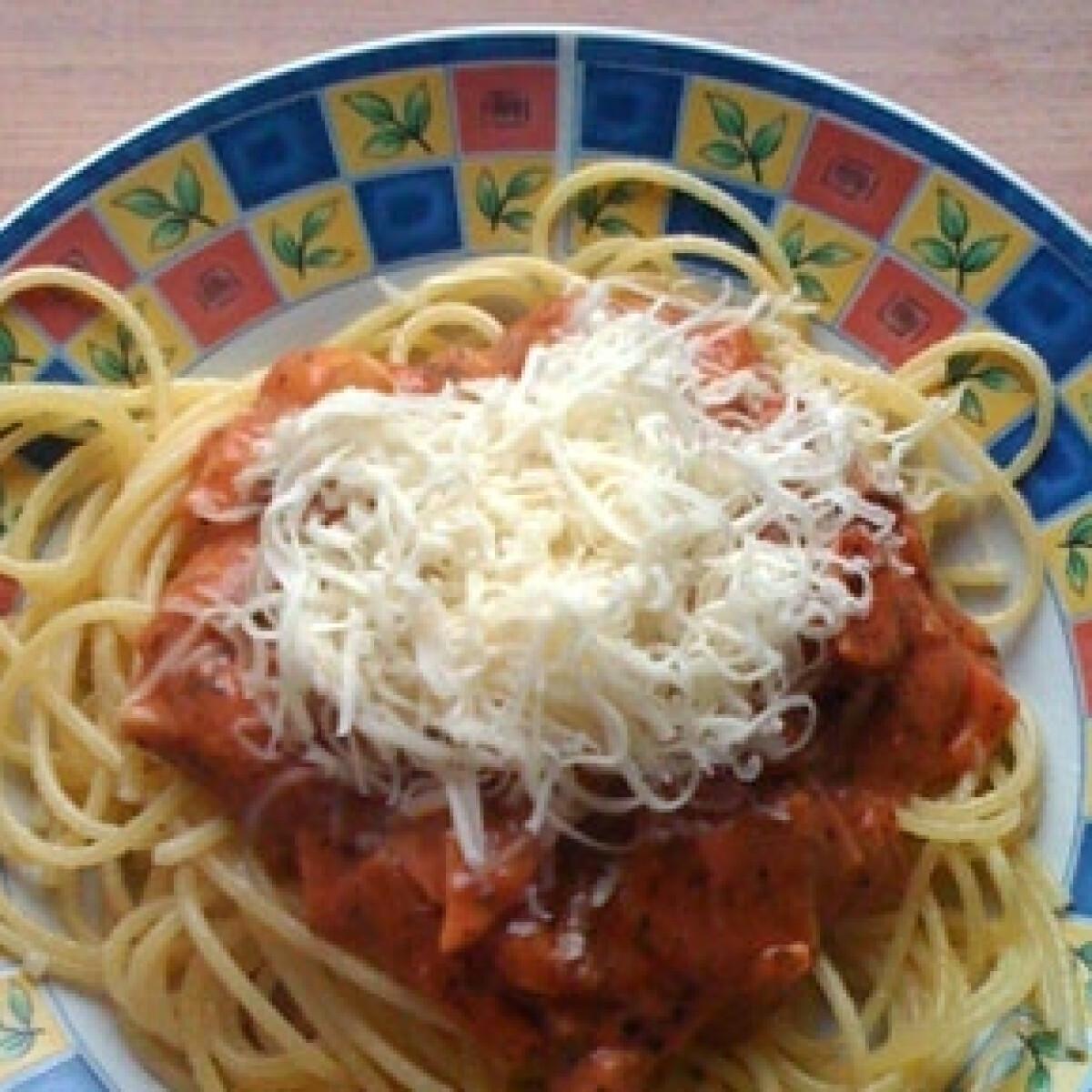 Ezen a képen: Milánói spagetti