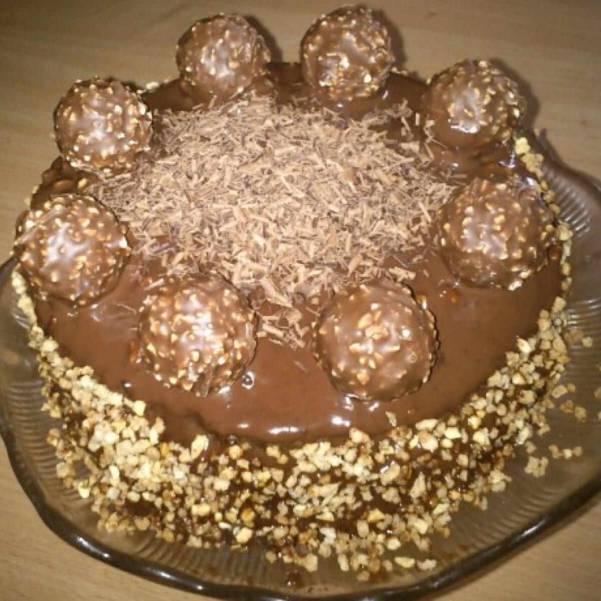 Ezen a képen: Ferrero torta
