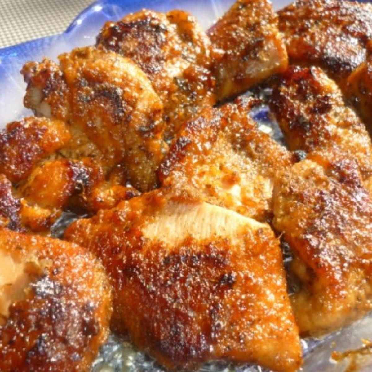 Ezen a képen: Citromos-szójaszószos csirkemell