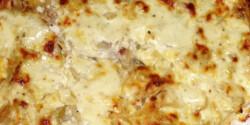 Tejfölben sült sajtos karaj