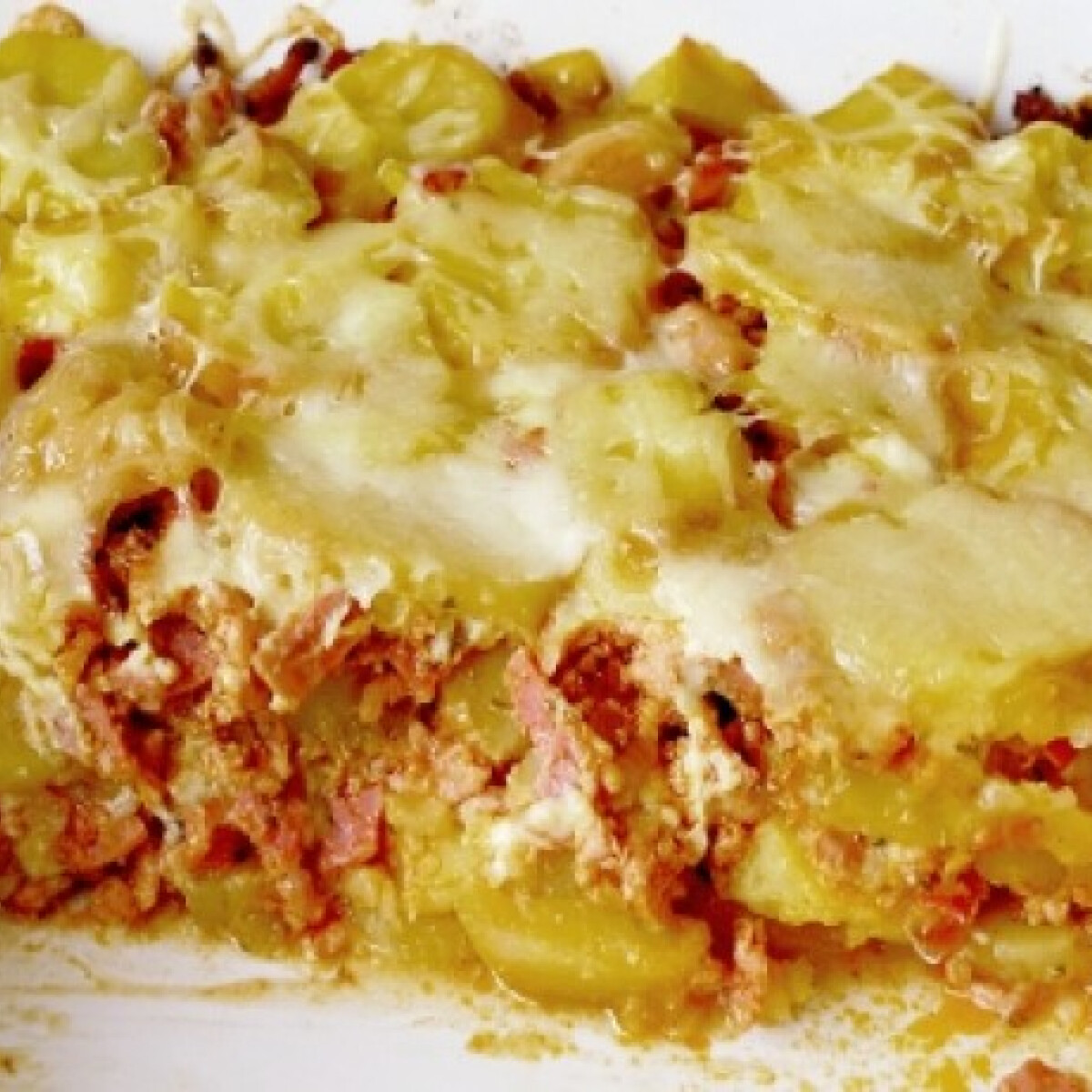 Ezen a képen: Krumpli lasagne Redy konyhájából