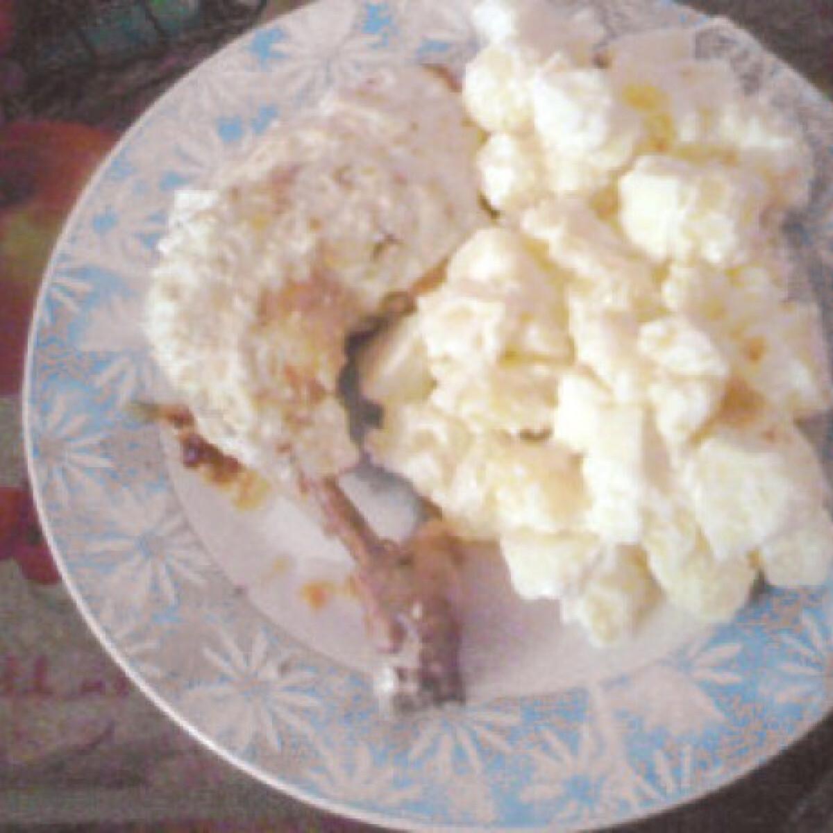 Szezámmagos-fokhagymás csirkecombok