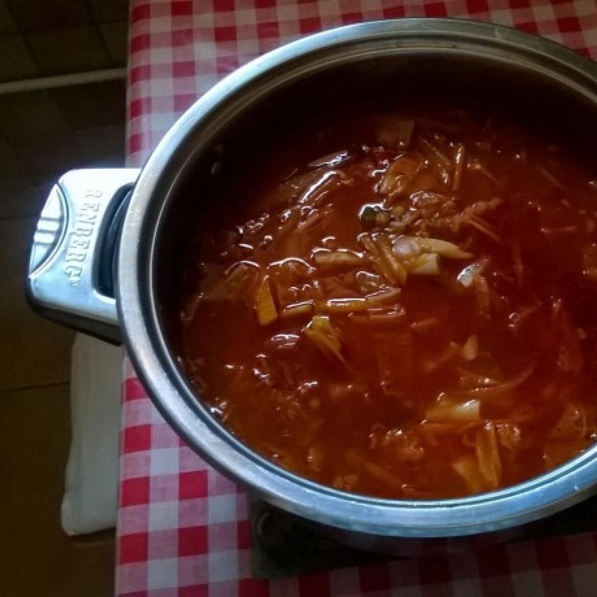 Minestrone leves márti1218 konyhájából