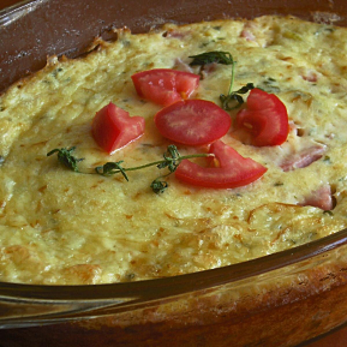 Ezen a képen: Füstölt sajtos cukkinifelfújt