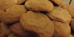 Omlós mogyoróvajas keksz