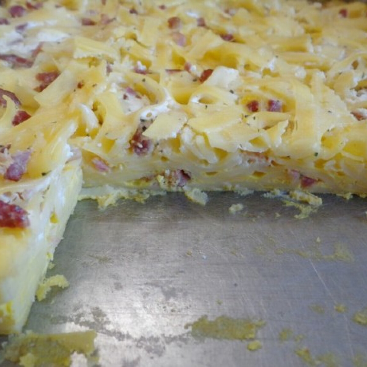 Sonkás tészta Margó konyhájából