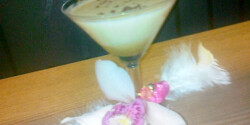 Étcsokis-mogyorós-tejszínes koktél