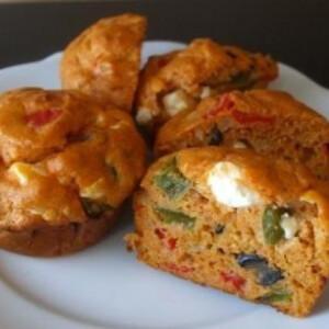 Görög pizza muffin