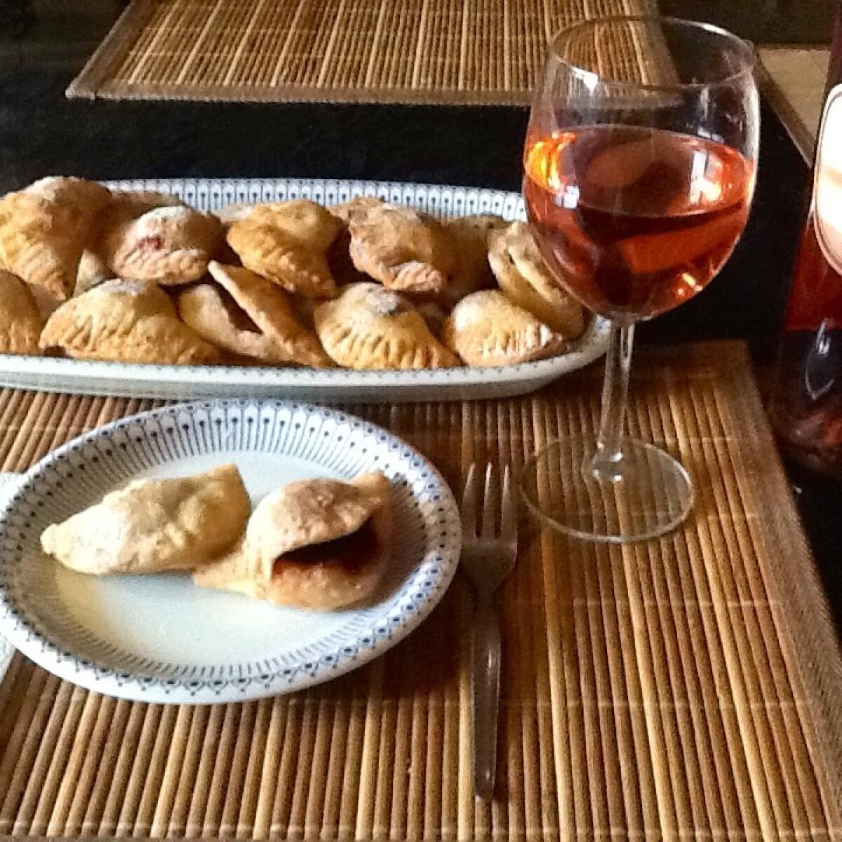 Ezen a képen: Gyümölcsös sült pite Csupasüti konyhájából